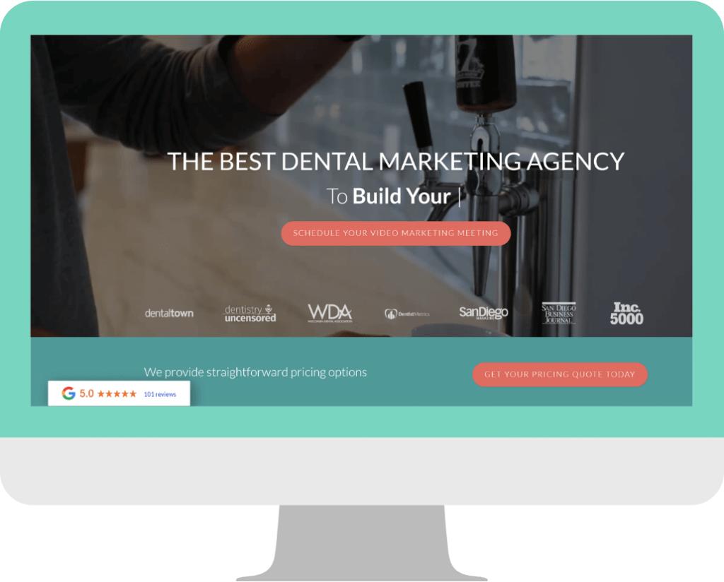 agency website design -Homepage example-Wonderist_Agency